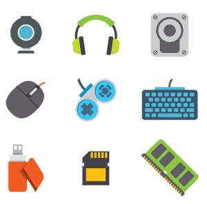 تصویر برای دسته تجهیزات جانبی کامپیوتر