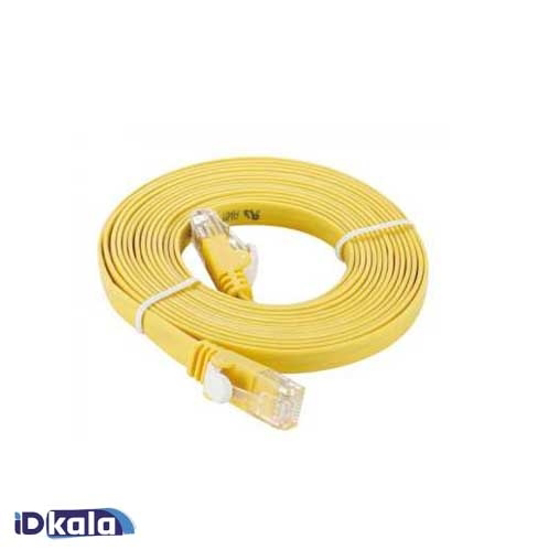 D-Link  3M Category 5E UTP Flat Patch Cord