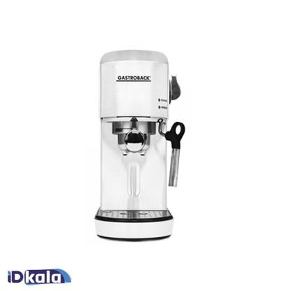 Gastroback 42717 Design Espresso Piccolo white