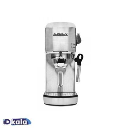 Gastroback 42716 Design Espresso Piccolo Silver
