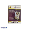 Power protector 4 ports 1.5 meters nano electronics model n4000r