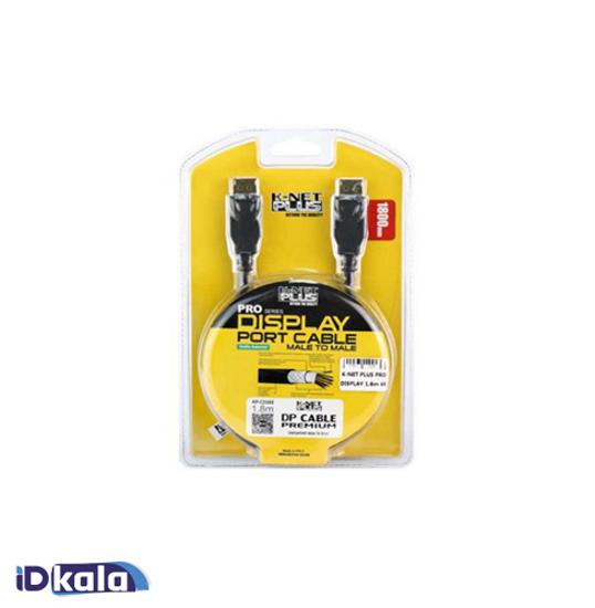 Display Port 4K cable length 1.8 meters KNET Plus model KP-C2102